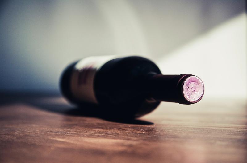 wino jako prezent