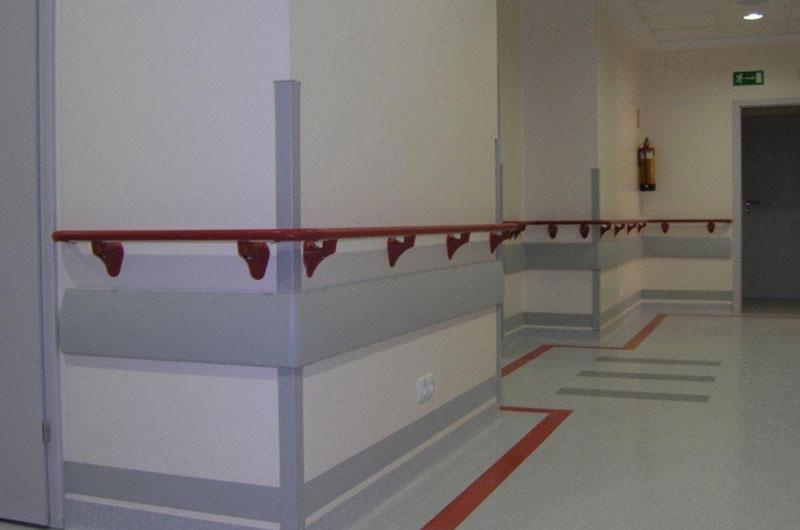 Jak zabezpieczyć ściany w szpitalu?